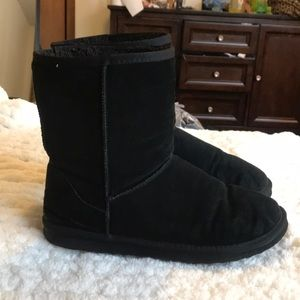 Faded Glory Shoes - Black comfy boots